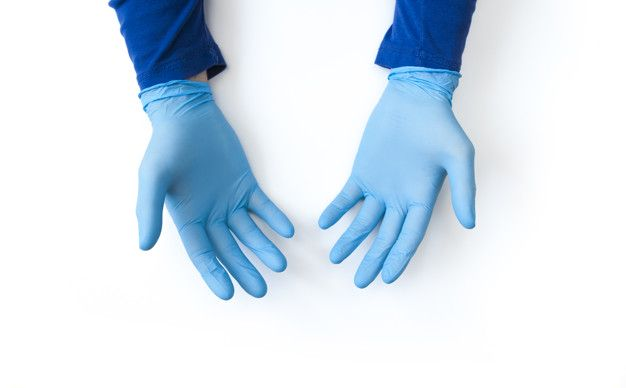 Rękawiczki jednorazowe JRJ